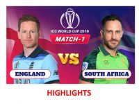 England vs South Africa | ICC Cricket World Cup 2019 - Match Highlights