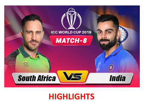 India Vs South Africa Highlights