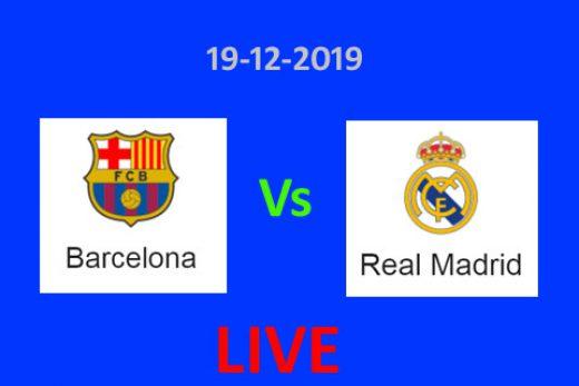 Barcelona Vs Real Madrid Live