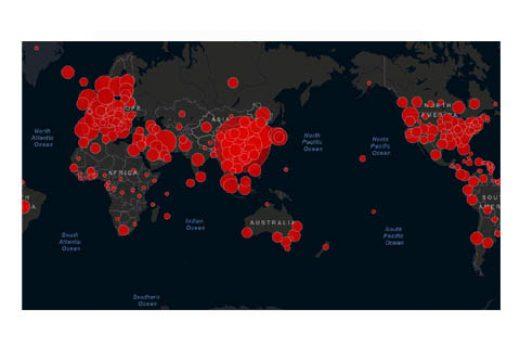 Corona Virus Real Time Map